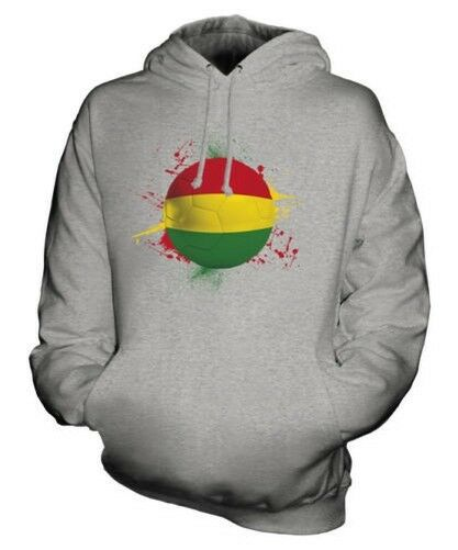 BOLIVIA FOOTBALL UNISEX HOODIE TOP GIFT WORLD CUP SPORT