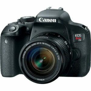 Canon-EOS-Rebel-T7i-w-18-55mm-IS-STM-Digital-SLR-Camera-Kit-NEW