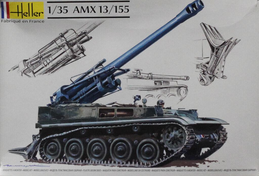 Plastic 155 13 35 1 Heller Model AMX U Kit 9cea1rigw53779