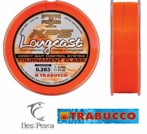 Filo da Pesca TRABUCCO LONGCAST FLUO 0,28 1200mt