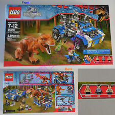 New LEGO Jurassic World T. rex Tracker 520 Pcs Set 75918 - ACU Trooper Hoskis