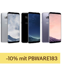 "Samsung Galaxy S8 64GB LTE Android Smartphone 5,8"" Display ohne Simlock 12MPX"
