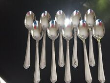 """Lenox Archway Oval Soup Place Spoon 7 1/4"""" Stainless Flatware Silverware"""