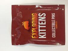 Exploding Kittens Series 2 Blind Bag Enamel Collector Pin One Random