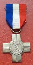 UK British General Service Cross medal order SIlver
