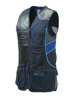 Beretta Blue Skeet Sporting Vest Total Eclipse Clays Shooting Trap GT691-0504