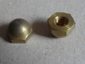 Cap Hex Nut  5//16 x 18 Nuts 5//16x18 5//16-18 Stainless Steel Acorn Dome 25