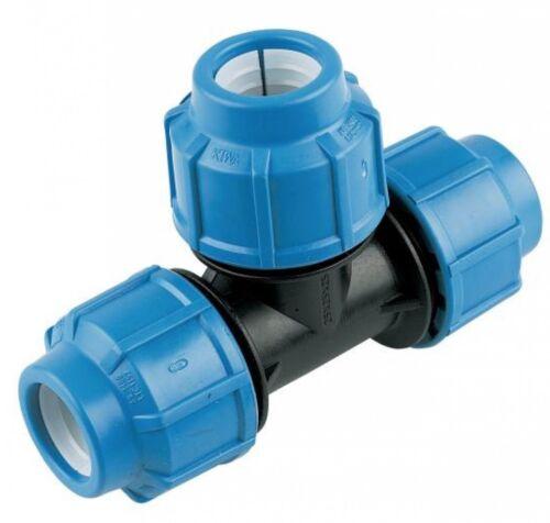 Camiseta de Compresión De MDPE para Pipa de Agua 20 mm 25 mm 32 mm 40 mm 50 mm