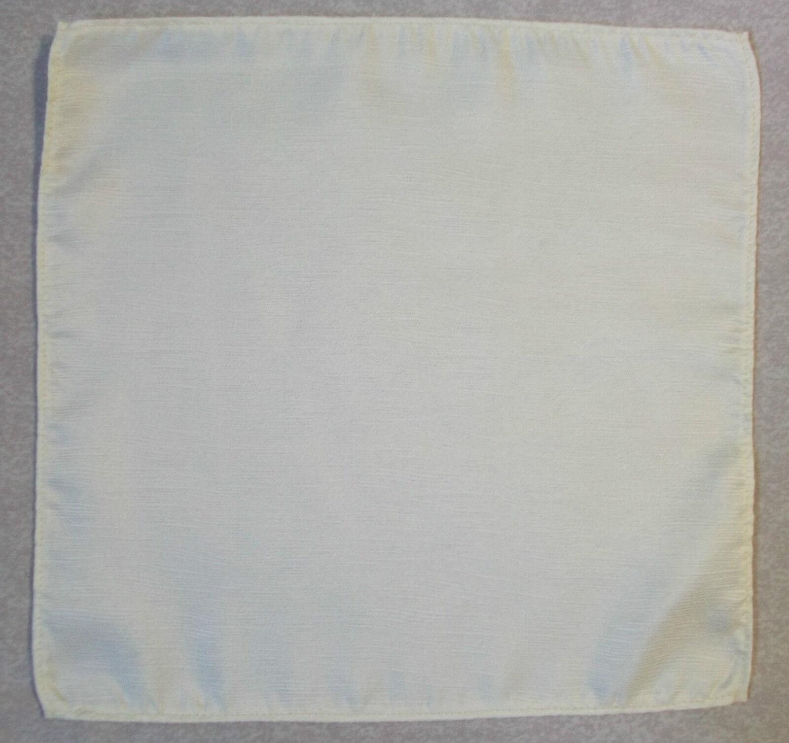 Handkerchief MENS Hankie Top Pocket Square Wedding Fashion Party LEMON YELLOW