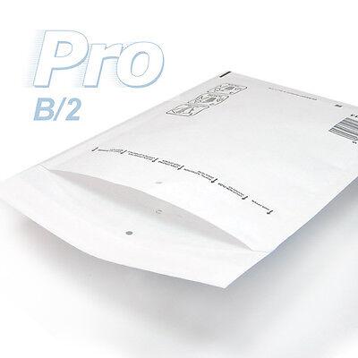 Lot de 100 enveloppes /à bulles blanches gamme PRO B//2 format 110x215mm