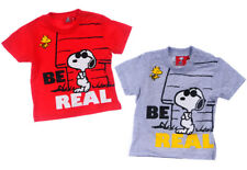 Gr Snoopy PEANUTS Baby T-Shirt kurzarm rot 68-86