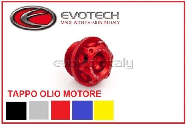 EVOTECH TAPPO OLIO MOTORE M20X 2,5 PER TRIUMPH STREET TRIPLE 07 08 09 10 11 12