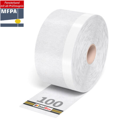 Professionnel fensterband folienband 100 mm x 20 m anschlussband extérieur fenêtre Dichtband