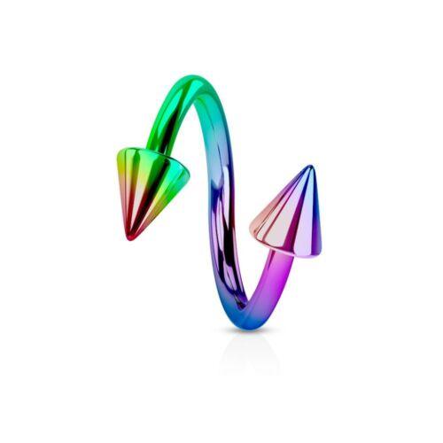 Piercing Spirale Titane Spikes