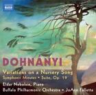 Variations On A Nursery Song von Nebolsin,Buffalo PO,Falletta (2010)