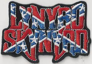 LYNYRD-SKYNYRD-FLAG-CUTOUT-IRON-ON-or-SEW-ON-PATCH