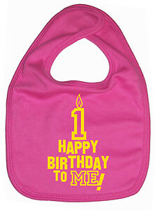 Image Is Loading Baby Birthday Bib 034 Happy 1st To