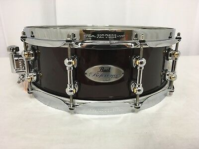 pearl reference pure 14 diameter x 5 deep snare drum black cherry 335 new ebay. Black Bedroom Furniture Sets. Home Design Ideas