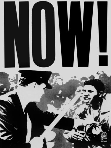 4588.OSPAAAL.civil protest.civil rights.equality.POSTER.decor Home Office art