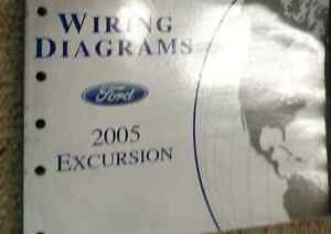 image is loading 2005-ford-excursion-truck-electrical-wiring-diagram-ewd-