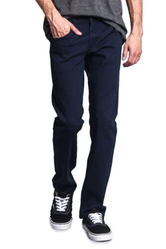 FREE SHIP Victorious Men/'s Slim Fit Colored Denim Jeans Stretch Pants  GS21