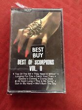 The Best of the Scorpions, Vol. 2 (Cassette, 1984, RCA) NEW