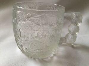 The Flinstones McDonalds Bone handled glass mug