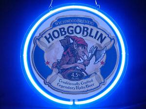 Hobgoblin Beer Hub Bar Display Advertising Neon Sign