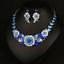 Fashion-Wedding-Caystal-Rhinestone-Choker-Bib-Necklace-Statement-Bridal-Jewelry thumbnail 69