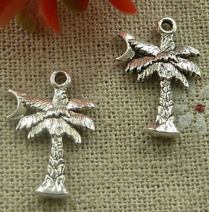 free-ship-320-pieces-tibetan-silver-coconut-tree-charms-21x14mm-2154