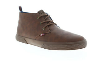 Ben-Sherman-Bristol-Chukka-BNM00160-Mens-Brown-Low-Top-Sneakers-Shoes-8-5