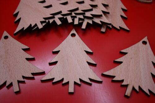 Blank Christmas Tree Shape Xmas Tree Decorations  Arts Craft Painting Pyrography