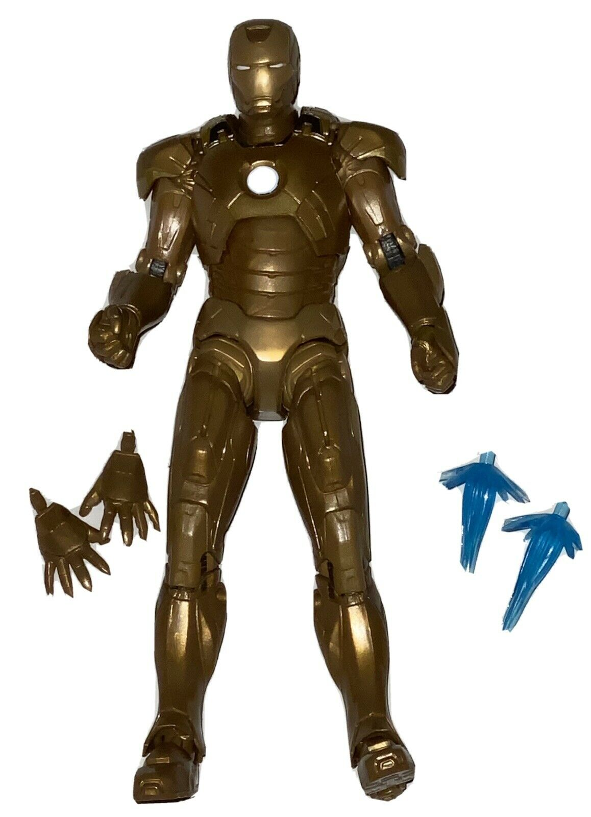 2021 Marvel Studios IRON MAN 3 MARK XXI LOOSE ACTION FIGURE Gold Hasbro Legends on eBay thumbnail