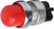 Fastronix Heavy Duty Push Button Momentary Start Switch Red Neoprene Cap