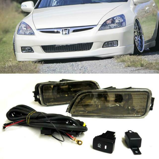 04-08 Acura TL Fog Light JDM W/Wiring Kit & Wiring