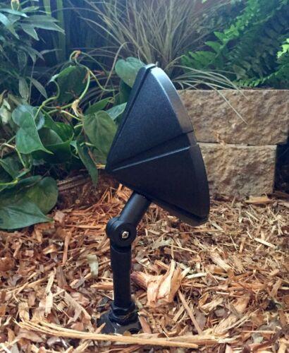 4 PK Outdoor garden low voltage landscape wall wash food halogen light Taurus Bk