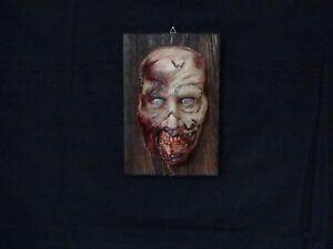 Film-fanartikel Diskret Lifesize Mask 1:1 Horror Mask Zombie Mask Twd Halloween Zombie Maske Zombie Um Das KöRpergewicht Zu Reduzieren Und Das Leben Zu VerläNgern