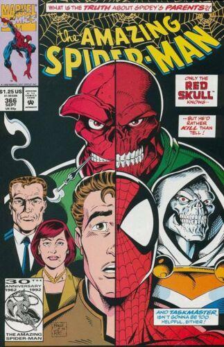 1963 VOL 1 AMAZING SPIDER MAN #366 VERY FINE NEAR MINT RED SKULL
