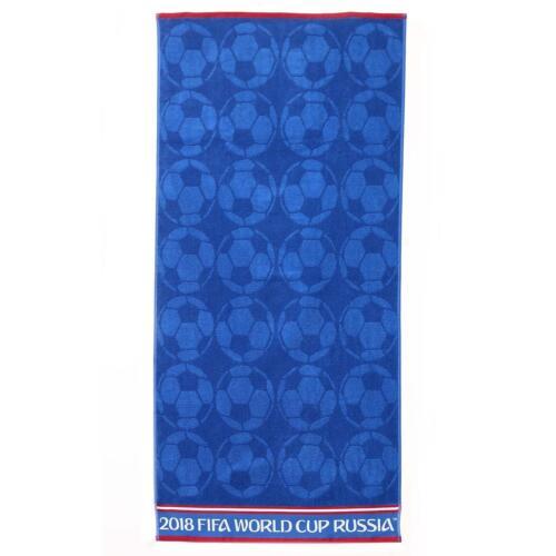 Blue Christy Unisex FIFA Football Bath Towel