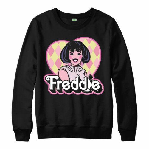 Freddie Mercury Sweatshirt Electronic Techno Singer Spoof Gift Jumper Top