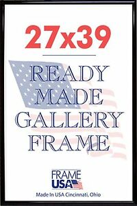 27x39 Deluxe Poster Frame Wplexi Glass 3 Colors Ebay