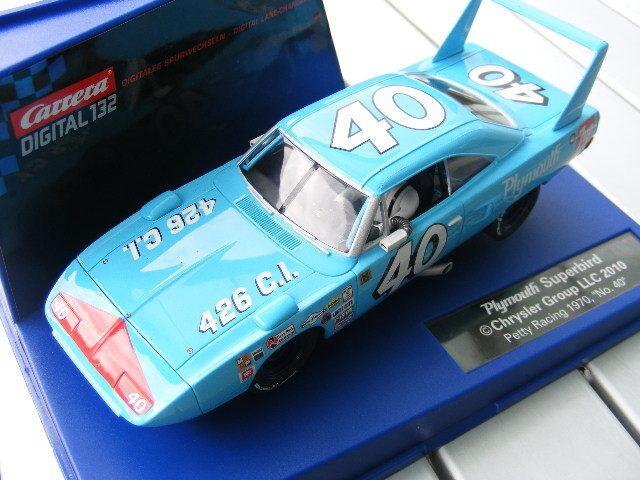Carrera Digital 132 30526 Superbird Petty Racing USA