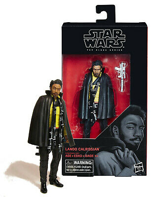 Mint On Card Star Wars the Black Series 65 Lando Calrissian 6 Inch