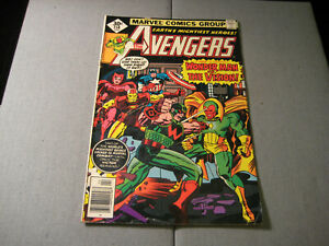 The-Avengers-158-1977-Marvel-Low-Grade-1st-App-Graviton