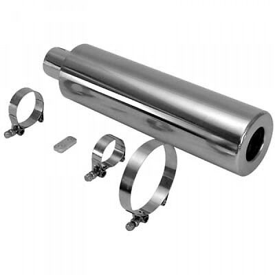 Stainless Steel Racing Muffler Fits Rat Rod # CPR251113-SS-RR