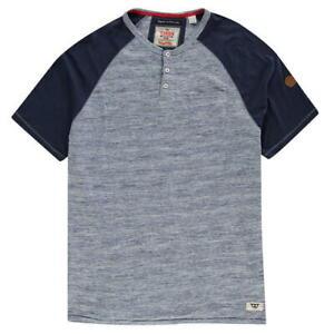D555-Mayfair-T-Shirt-Mens-Top-Tee-Blue-UK-3XL-2