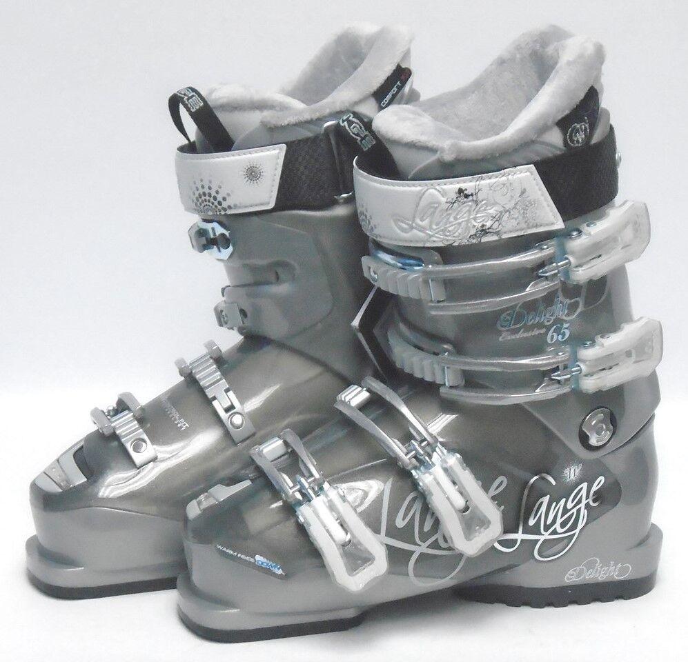 Lange Exclusive Delight 65 Women's Ski Boots - Size 5.5   Mondo 22.5 New
