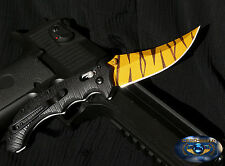 CS GO Flip Knife Tiger Tooth Jagd Messer Counter Strike *Geschenk Handarbeit*