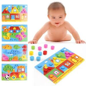 Color-Cognition-Board-Educational-Toys-Child-Wooden-Color-Match-Game-Xmas-Toys