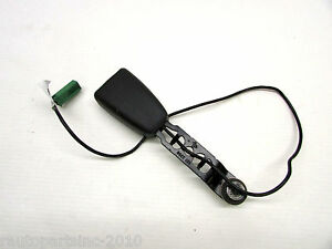 2007 Volvo S40 Seat Belt Buckle Front Left Right Black ...